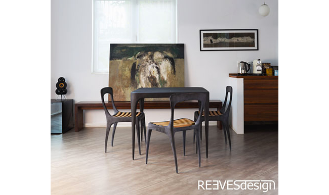 CAS1 Square Metal Table indoor shoot