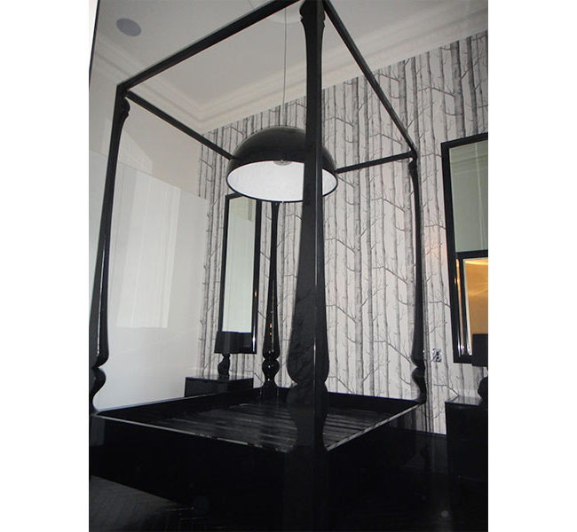Custom Louis Four Poster Bed- 3 meters tall