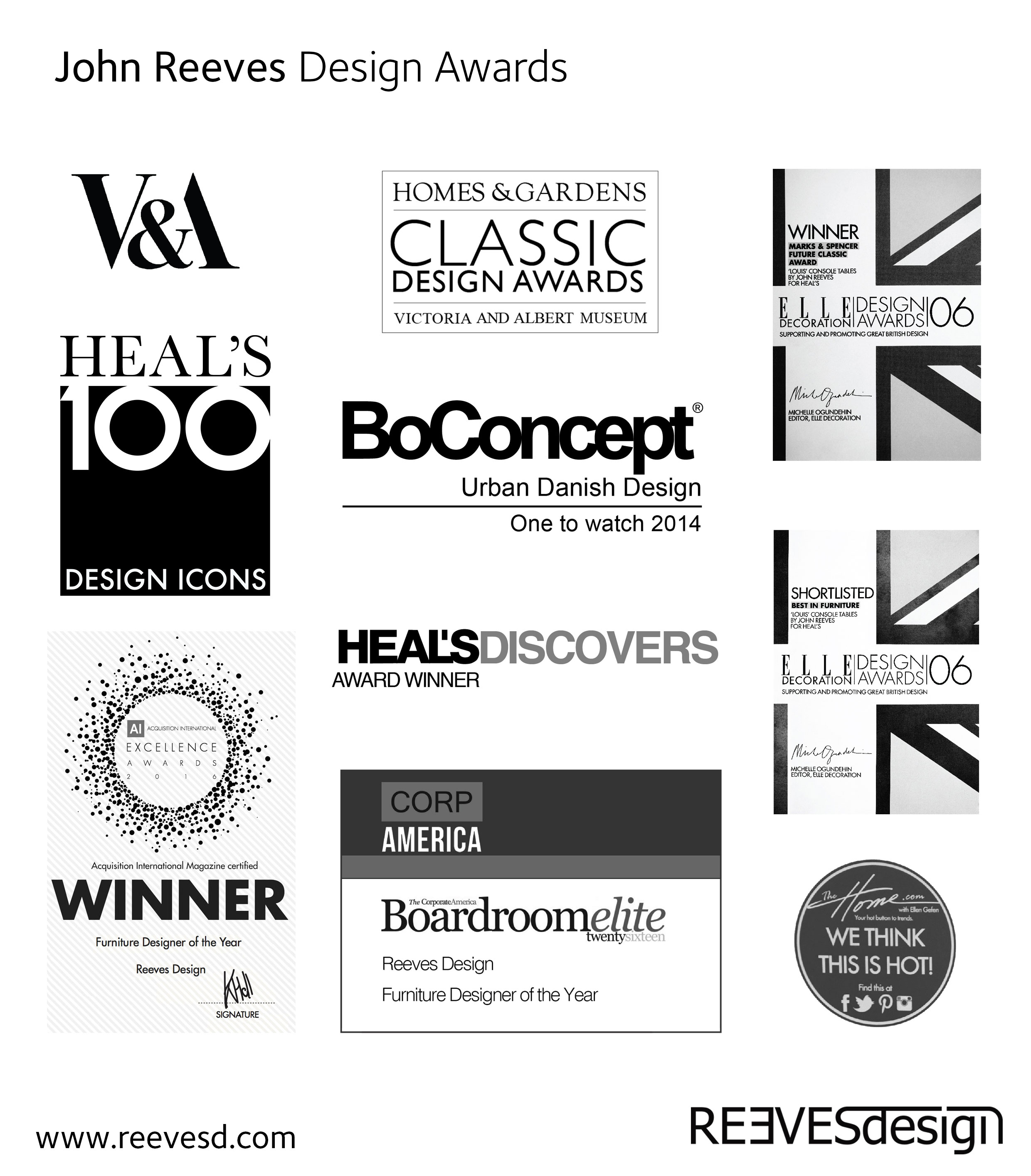 Design Awards, thank you.