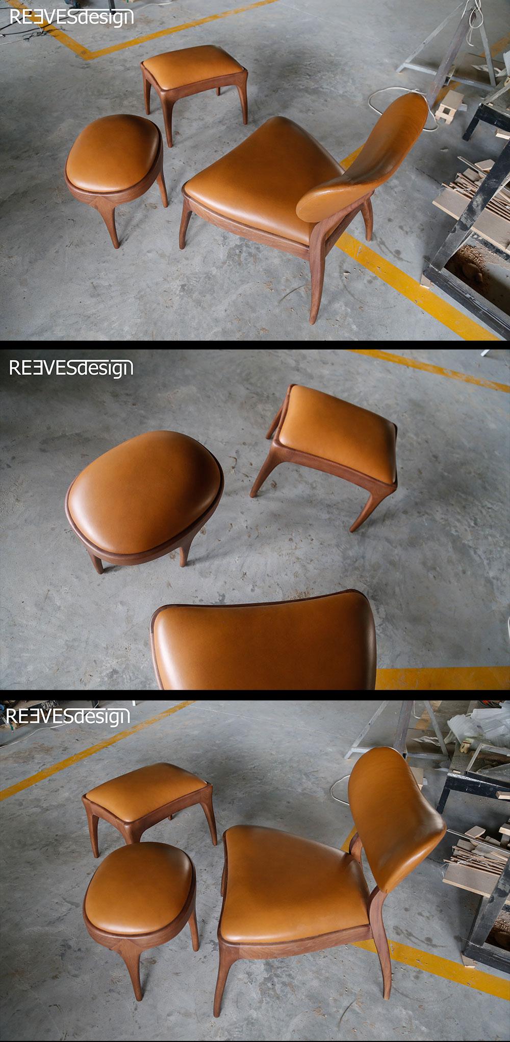 New Talon Ottoman Footstools