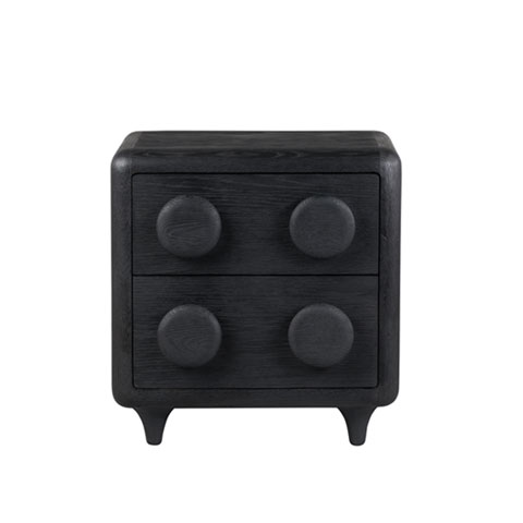 Button Chest of 2 Drawers (Bedside)