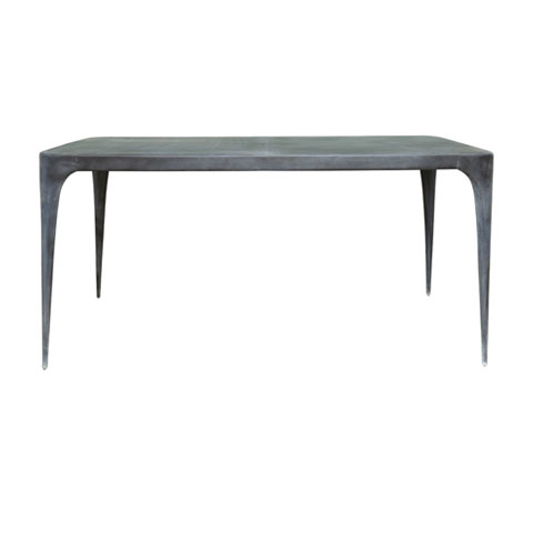CAST Rectangular Dining Table Metal Top