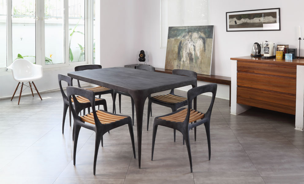 CAST Rectangular Dining Table Metal Top CAST Products Reeves