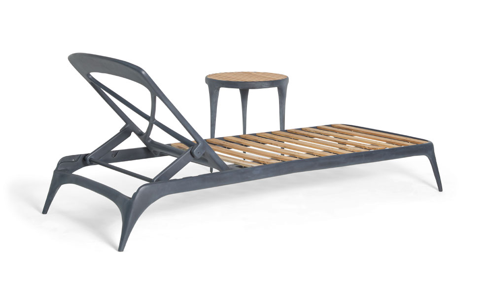 Cast Sunlounger (with arms and without arms)
