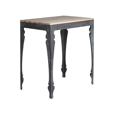 Louis Hybrid Zinc Bar Table