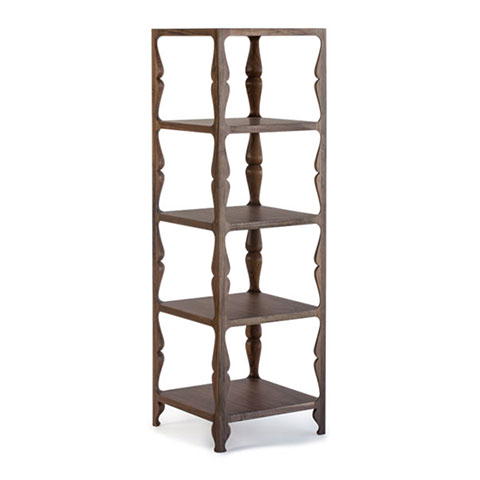 Louis Etagere Solid Wood