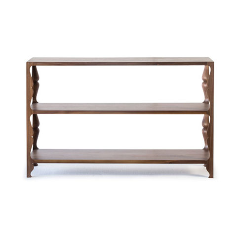 Louis Low Shelving Solid Wood