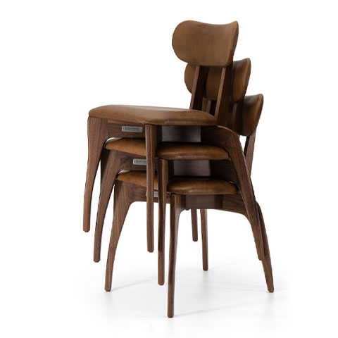 Talon Slot Stacking Chair