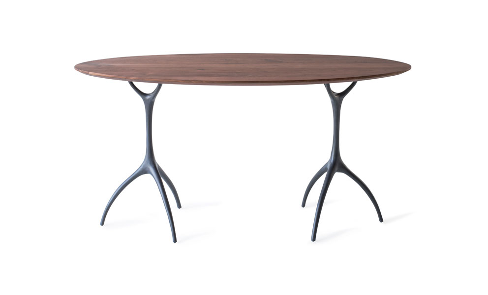 Talon Oval Desk